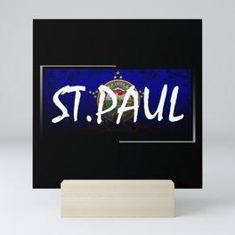 St.Paul Mini Art Print