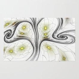 Surreal abstract fractal Rug