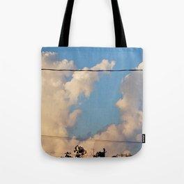 Unfiltered Sky Tote Bag