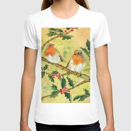 English Robin T-shirt