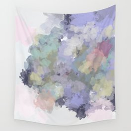 Floral Watercolor Abstract Wall Tapestry