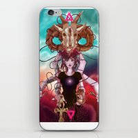 occult iPhone & iPod Skins featuring Occult allegory by Kami-katamari