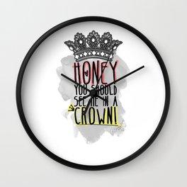 Moriarty - SHERLOCK Wall Clock