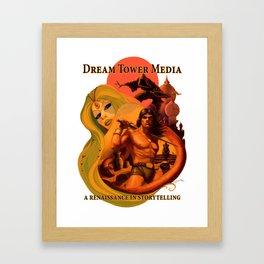 Dream Tower Media Heroic Fantasy Adventure Framed Art Print