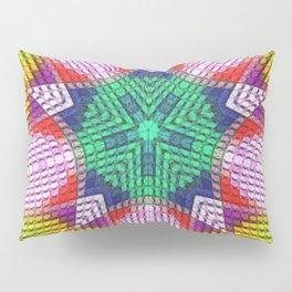 Golden Texture Pillow Sham