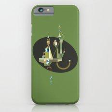 absinthe: green iPhone 6s Slim Case