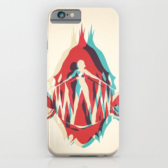 Piranha Girl iPhone & iPod Case
