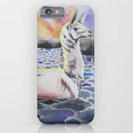 Llama Ness Monster iPhone Case