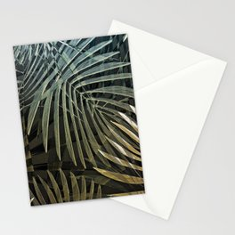 Tropical Palm Print Multi-Colored Stationery Cards