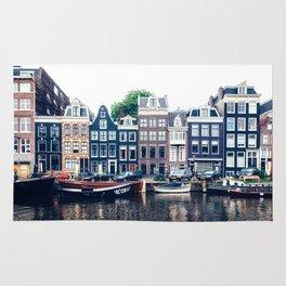 Street in Amsterdam Rug