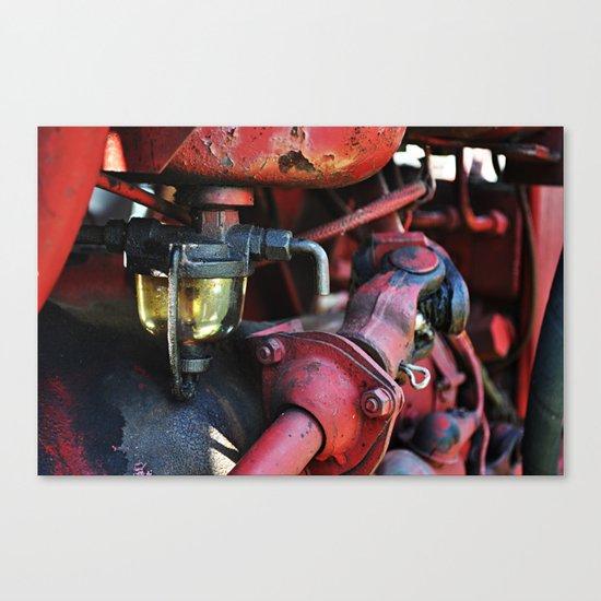 Fuel Sediment Bowl Canvas Print
