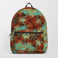Scifi Rustic Geometric Backpacks