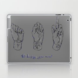 For keeping your nerve! Laptop & iPad Skin