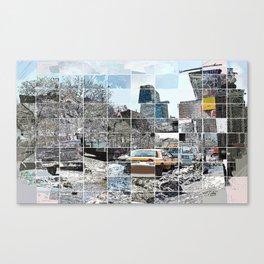 Essex Street with Bar Canvas Print