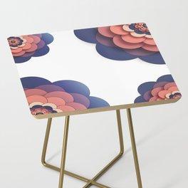 Floral // Border Side Table