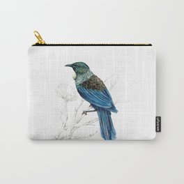 Tui, New Zealand native bird Carry-All Pouch