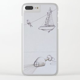 Ashes Clear iPhone Case