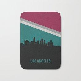 Los Angeles Skyline Bath Mat