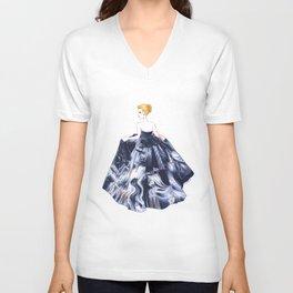 Nightgown Unisex V-Neck