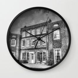 Georgian Architecture Wall Clock