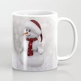 Robin and Snowman Coffee Mug