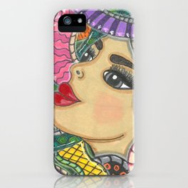 Colorful Medusa iPhone Case