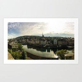 Zurich, Switzerland Art Print
