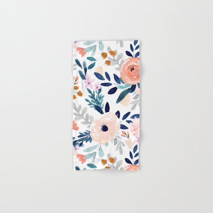 Jolene Floral Hand & Bath Towel