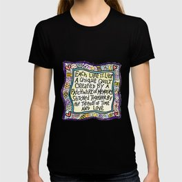Quilt Quote II T-shirt