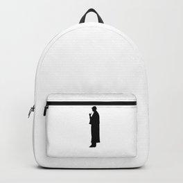 Sherlock Holmes Silhouette Backpack