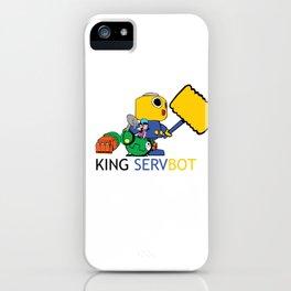 KING SERVBOT iPhone Case