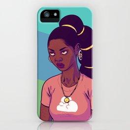 (eye roll emoji) iPhone Case