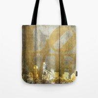 dallas Tote Bags featuring Dallas Love by Brandi Fitz Arts