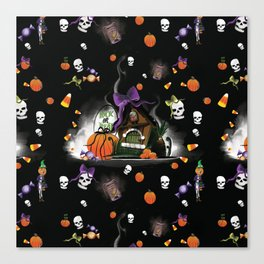 Tricks & Treats Canvas Print