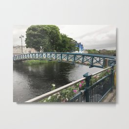 Galway,Ireland Bridge Metal Print