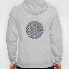 The Flower of Life in the Sky Hoody