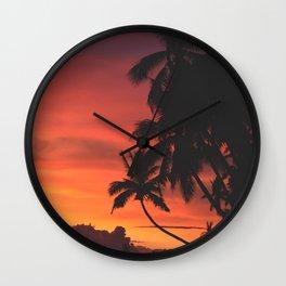 Palm Tree Majesty Wall Clock