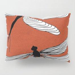 Dragonflies red Pillow Sham