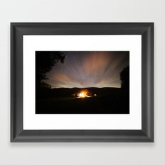 The Farmhouse Framed Art Print