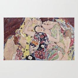 THE VIRGINS - GUSTAV KLIMT Rug