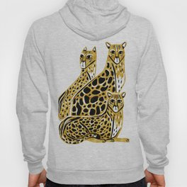 Gold Cheetahs Hoody