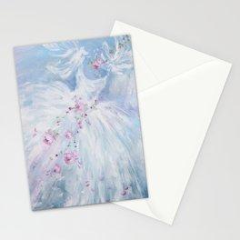 Tutus' in Aqua Stationery Cards