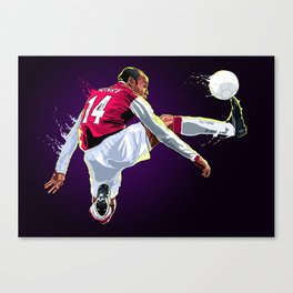 Thank you Thierry! Canvas Print