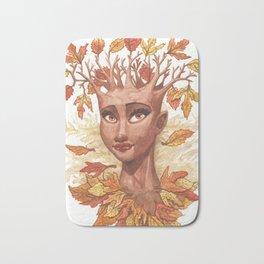 Fall Goddess Bath Mat