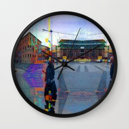 Akin to recalling, instead; understood mimicry. 14 Wall Clock