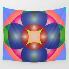 Atoms 39 Wall Tapestry