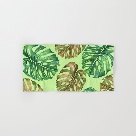 Tropical Summer #1 Hand & Bath Towel