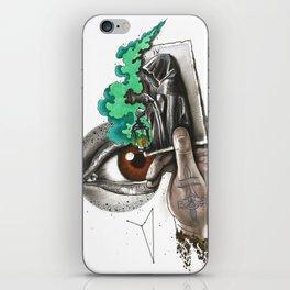 Search IX Noli foras ire, inter ipsum redi iPhone Skin