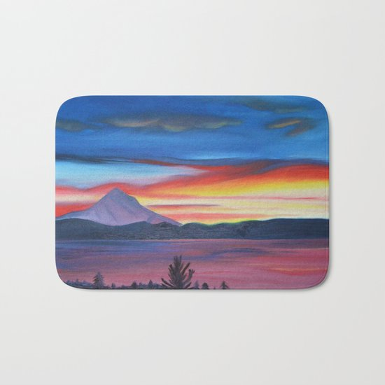 Our Side of The Mountain, Pacific Northwest Mountain Series Bath Mat
