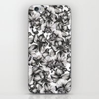 orchid iPhone & iPod Skins featuring orchid by GYYO